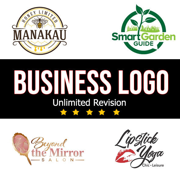 PROFESSIONAL CUSTOM LOGO DESIGN + BUSINESS LOGO+ UNLIMITED REVISION + GRAPHICS 18