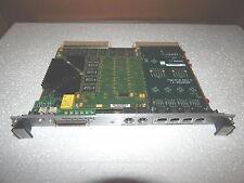 Motorola MVME2604 761 I/O VME Board w/PMC 610 PCI Mezzanine Card- Quad 10/100