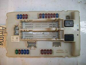 engine fuse box nissan altima 08 09 10 | ebay nissan altima fuse box clicking