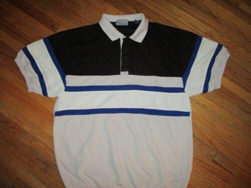 vtg 70s 80s SASSON BRAND POLO SHIRT Short Sleeve … - image 1