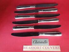 Messer Tisch Chinon 24.5 CM christofle Correct Zustand Versilbertes Metall
