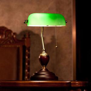 Image Is Loading Vintage Table Lamp Bedroom Gl Desk Office