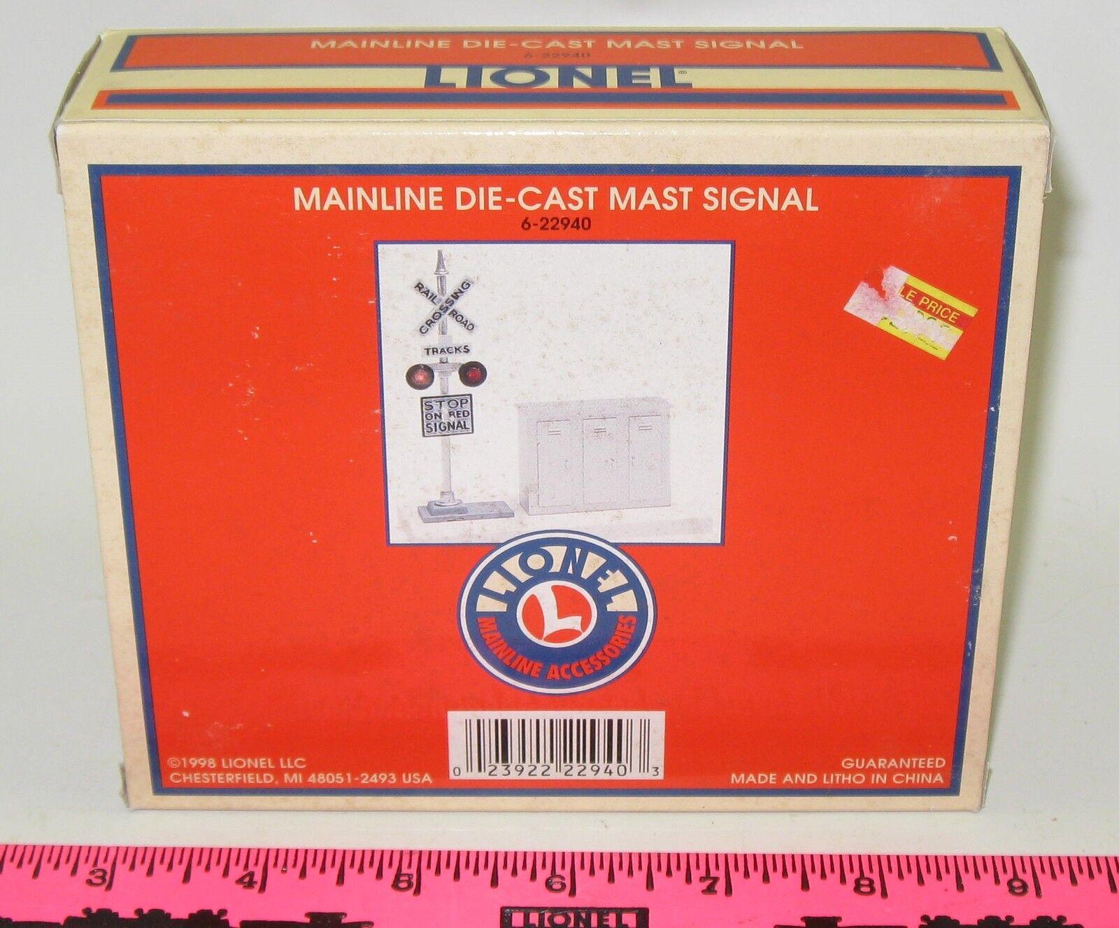 Lionel neue 6-22940 mainline druckguss mast signal