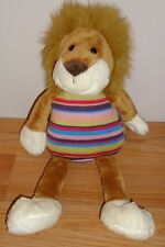 "Animal Alley LION w/Striped body 13"" stuffed plush"