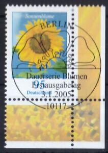 BRD-2005-gestempelt-ESST-MiNr-2434-Blumen-Einjaehrige-Sonnenblume