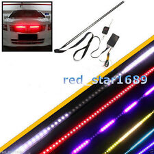 Waterproof Remote 7 Color 48 LED Flash Car Strobe Knight Rider Light Strip Kit
