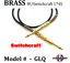 thumbnail 5 - Instrument Cable Conquest Sound cord with VINTAGE style Switchcraft BRASS END