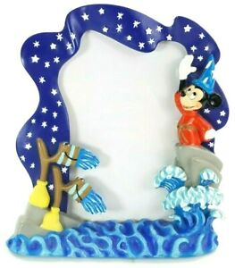 Disney-Mickey-Mouse-As-Sorcerer-039-s-Apprentice-Fantasia-3-x-5-Open-Picture-Frame
