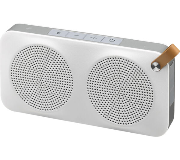 100% Waar Jvc Sp-ad90-w Portable Wireless Speaker With Nfc & Bluetooth - White