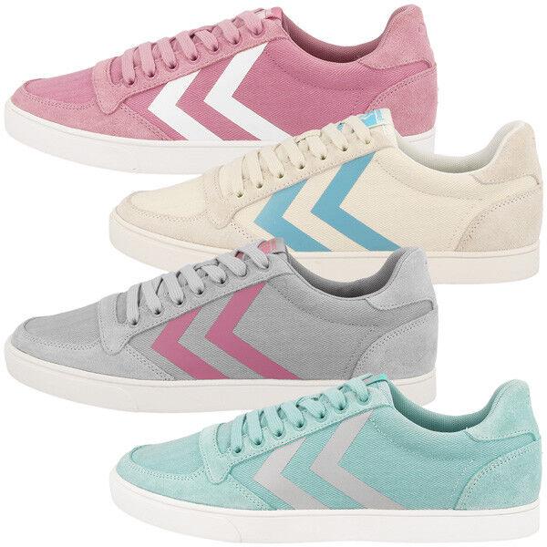 Descuento por tiempo limitado Hummel Slimmer Stadil Hb Low Cut Sneaker Damen Freizeit Sport Schuhe 64-444
