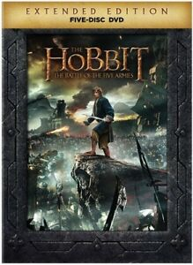 The-Hobbit-The-Battle-of-the-Five-Armies-Extended-Edition-New-DVD-Extende