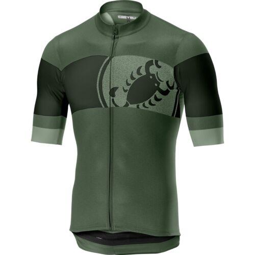 Castelli Men/'s Ruota Full Zip Bike Jersey 2019