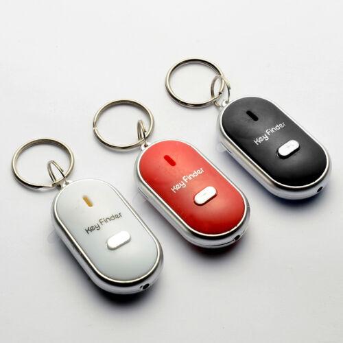 Schlüsselfinder LED Taschenlampe Gadget Schlüssel Key Finder Anhänger PfeifenA+