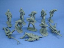 CTS WWII German Infantry Heavy Weapons Assault 11 Plastic Toy Soldiers FREE SHIP