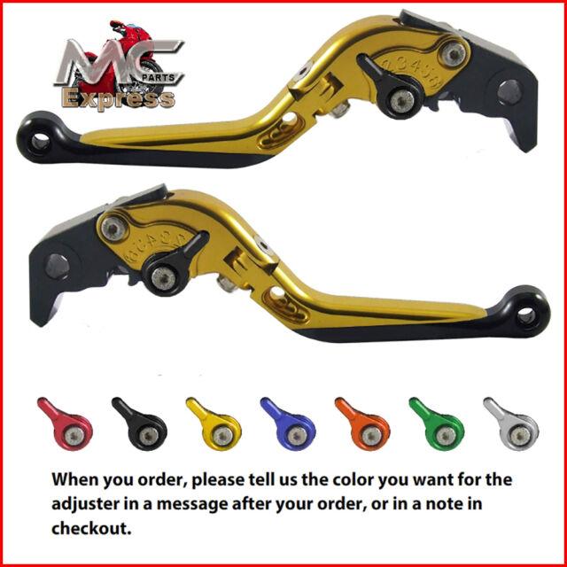 YAMAHA FZ8//800 Fazer 2010-2015 Adjustable Brake /& Clutch CNC Levers Titanium