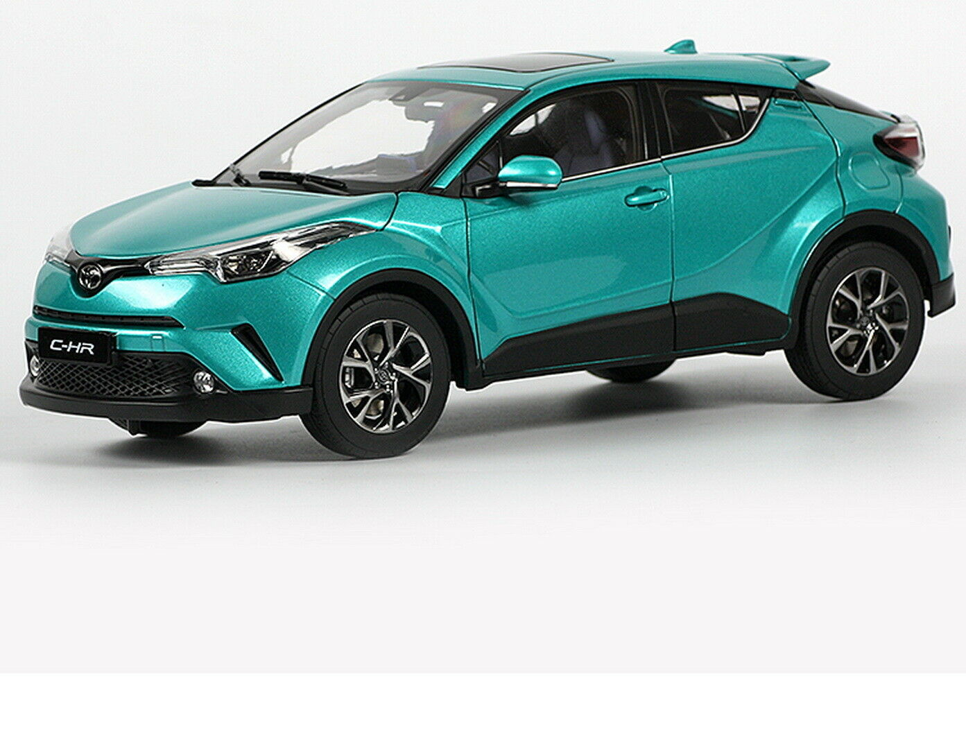 1 18 Scale Toyota C-HR CHR verde Diecast Car Model Toy Collection Gift NIB