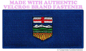 alberta flag patch canada embroidered new canadian w velcro brand