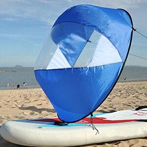 42-5-034-faltbare-Downwind-Wind-Paddel-Popup-Board-fur-Kanu-Kajak-Segel-Zubehor