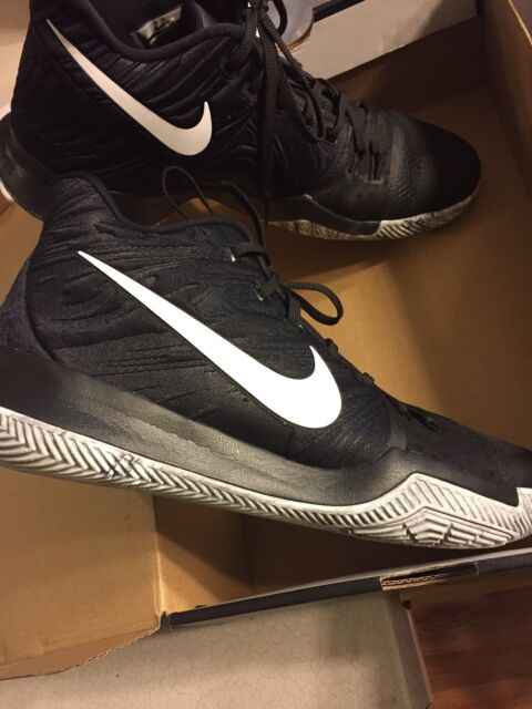 84e38dc6edf0 Nike Men s Kyrie 3 BHM Basketball Shoes - Black White for sale ...