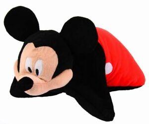 Enfants Disney Mickey Mouse 1 En 2-coussin Peluche Oreiller Cadeau Idéal-afficher Le Titre D'origine Les Clients D'Abord