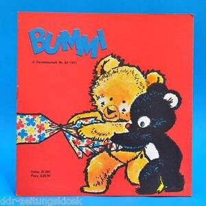 DDR Bummi 24/1971 Kinderzeitschrift 2. Dezemberheft Geburtstag Bastelbogen - Sachsen-Anhalt, Deutschland - DDR Bummi 24/1971 Kinderzeitschrift 2. Dezemberheft Geburtstag Bastelbogen - Sachsen-Anhalt, Deutschland