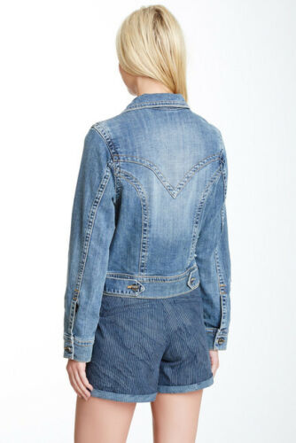 Lab taille coupe denim petite Veste Destruction en Design jean en de crop qzSwpRxg