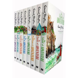 Enid-Blyton-Adventure-Series-Collection-8-Books-Set-Childrens-Classic-Books-NEW