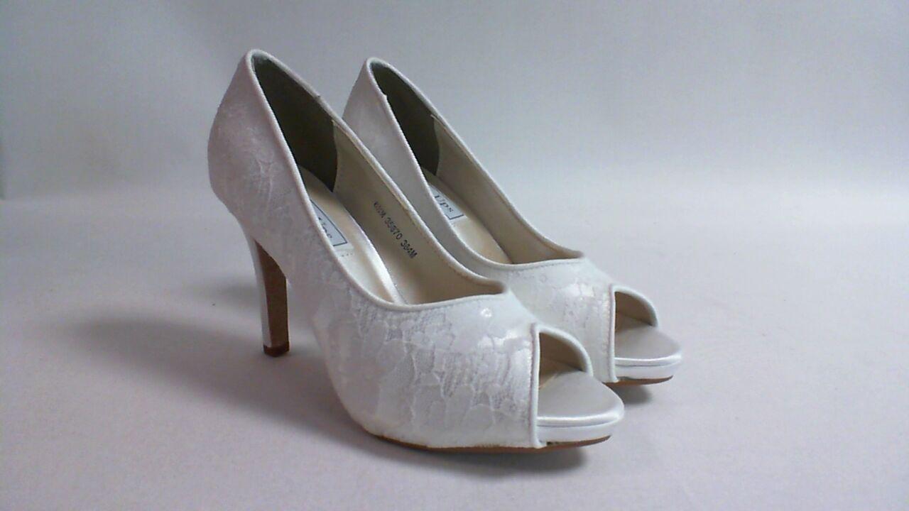 Touch Ups Wedding/Evening Shoes - White - Catalina - US 6M UK 4 #7E40