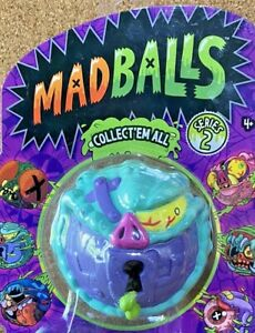 THEY'RE BACK BABY!!! LOCK LIPS! MADBALLS UGLY TOYS SERIES 2 2017 TCFC MOC!!!