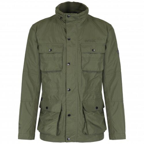 Regatta Mens Elwin Waterproof Breathable Jacket Olive Night S RRP £90