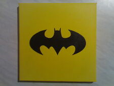 Batman - Bat Signal Painting On Canvas By R. McCutcheon
