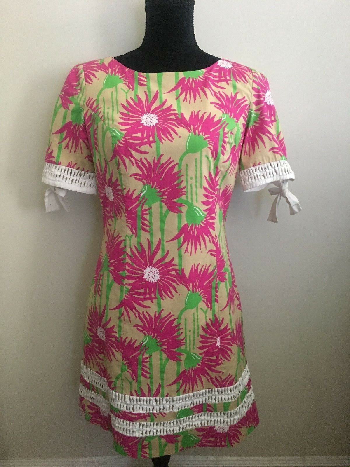 Lilly Pulitzer Floral T-Shirt Dress