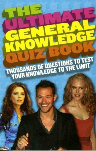 1 of 1 - The Ultimate General Knowledge Quiz Book,unknown