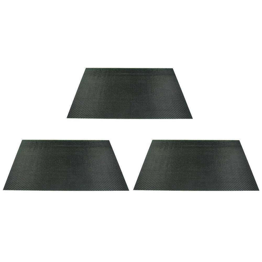 3 x arris 2,5 400x500x2.5mm 3k 100% kohlefaser - platte leinwandbindung panel.