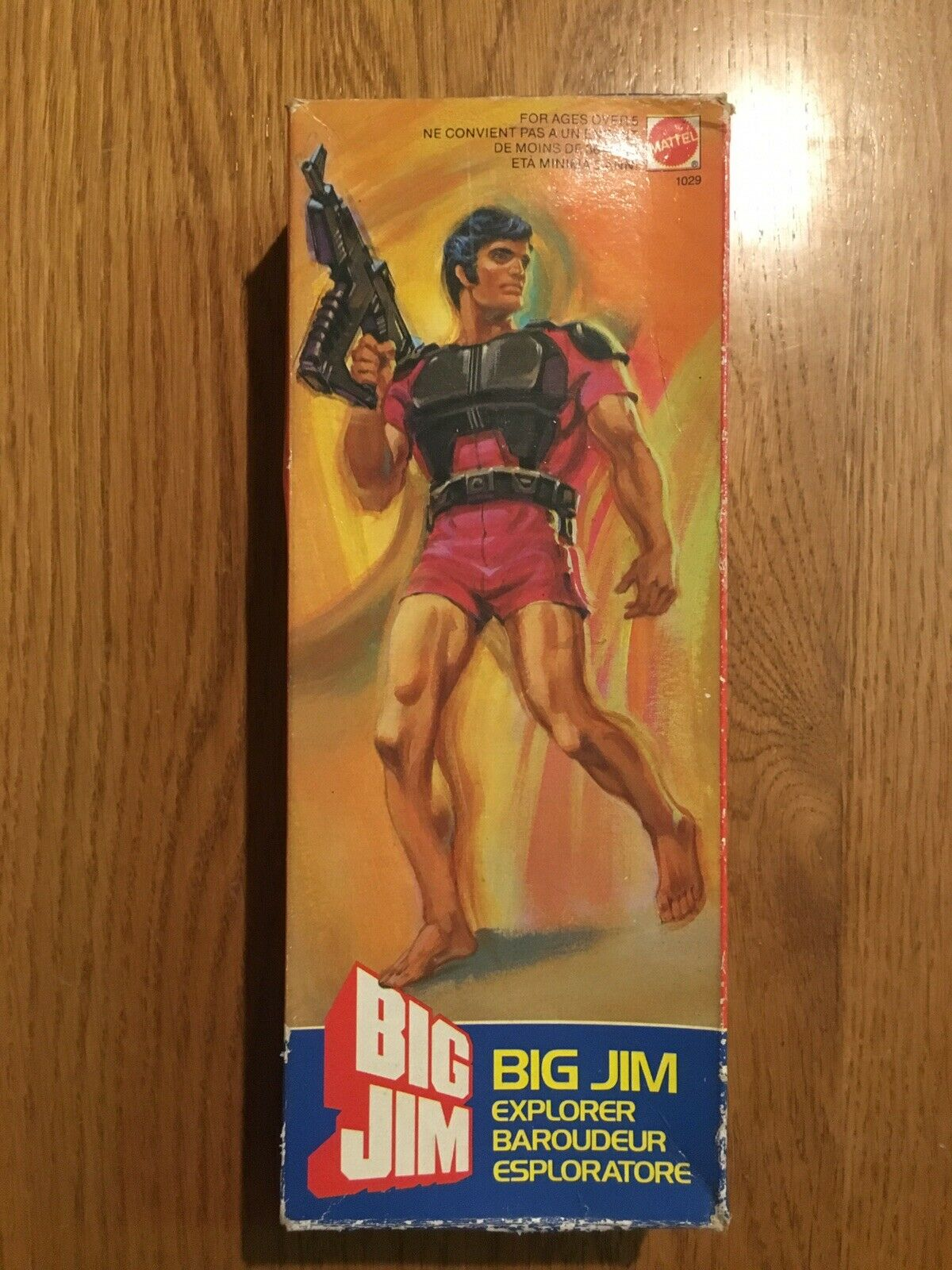 BIG JIM MATTEL  BIG JIM EXPLORER     RARE BOXED FIGURE     NUOVO
