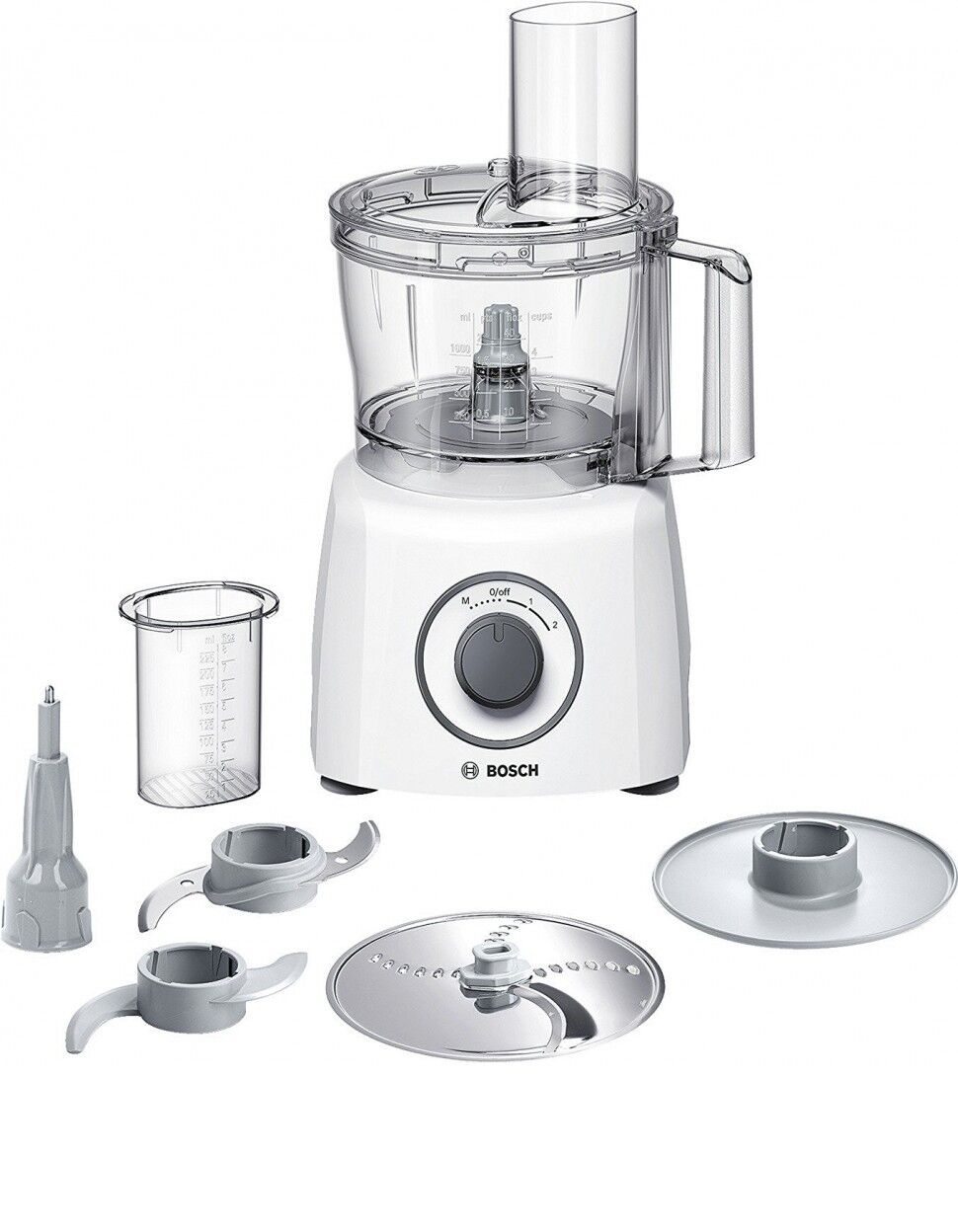 BOSCH MCM3100W Food Processor MultiTalent3 2 Speeds 800W 2.3L Genuine New