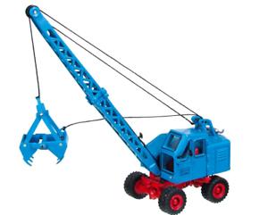 NZG excavadora móvil F301 1 87 escala Fuchs-Azul