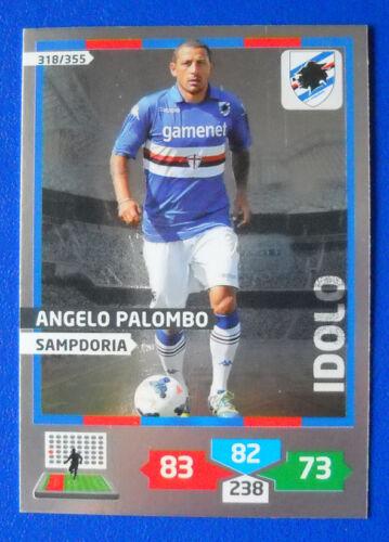 PALUMBO SAMPDORIA CARD CALCIATORI PANINI ADRENALYN 2013//14 2014 N.318 IDOLO
