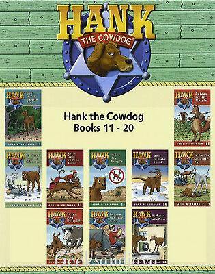 Hank the Cowdog 11-20 (pb) John R Erickson - Hank, head of ranch security NEW