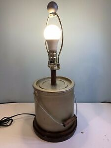 Novelty Paint Can Bucket Table Lamp c509
