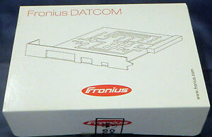 Professional Sale Fronius Datalogger Card Pro Retrofit Neu New Ovp Versiegelt Home Improvement
