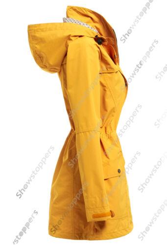 New WATERPROOF Coat Ladies Raincoat Women Jacket Size 10 12 14 16 18 20 22 24