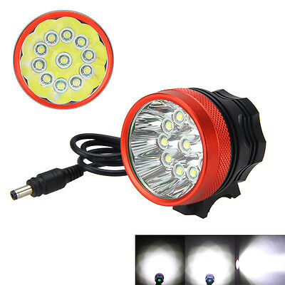 VastFire 28000Lumen 11X XM-L T6 LED TORCH FRONT BICYCLE LAMP HEADLAMP HEADLIGHT