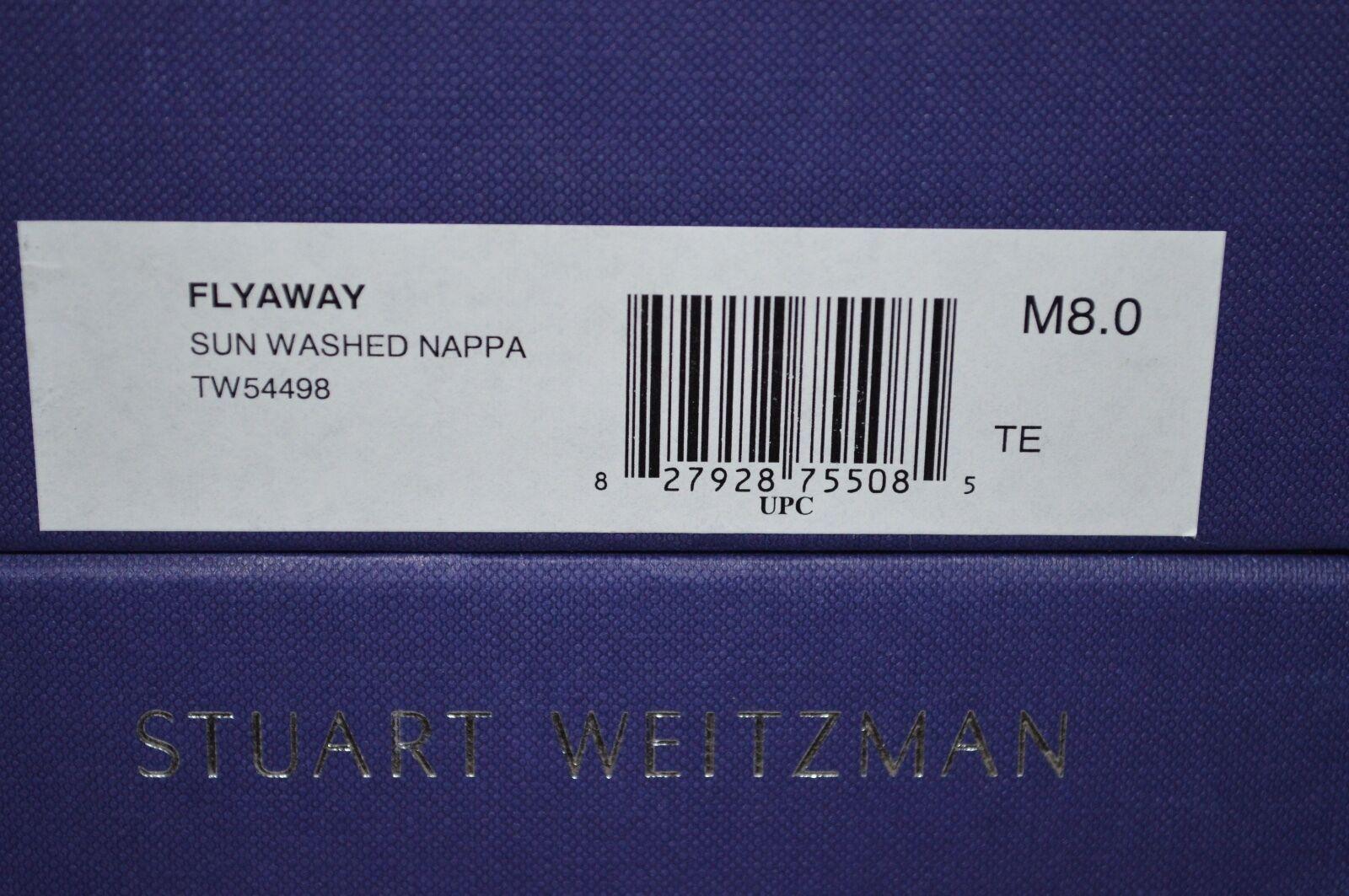 Nuevo  398 Stuart Weitzman sostienen Fly Away Sun lavado lavado lavado Napa Sandalia Talla 8.5 3ed44e