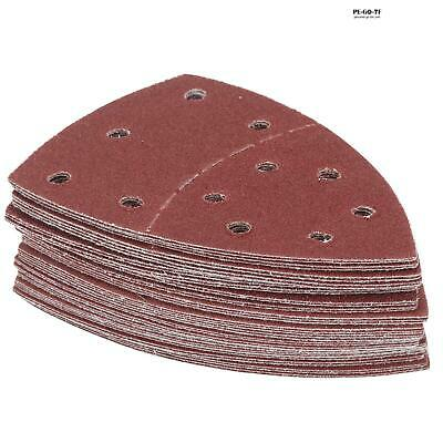120 and 240 grit Dapetz /® 40 Mouse Detail Sander Sanding Sheets All Grades Coarse to Fine 60 80
