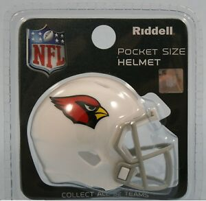 ac74ddda Details about **New** Arizona Cardinals Riddell NFL Pocket Pro Revolution  Football Helmet