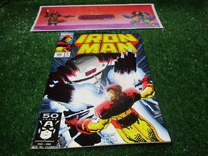 vtg-invincible-Iron-Man-266-Marvel-Comic-book-1st-print-hi-res-pics