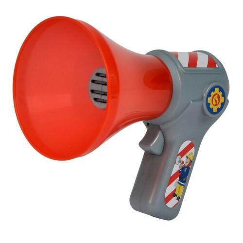 Kinder MegaphonFeuerwehrmann SamMegafon mit Stimmenverzerrer