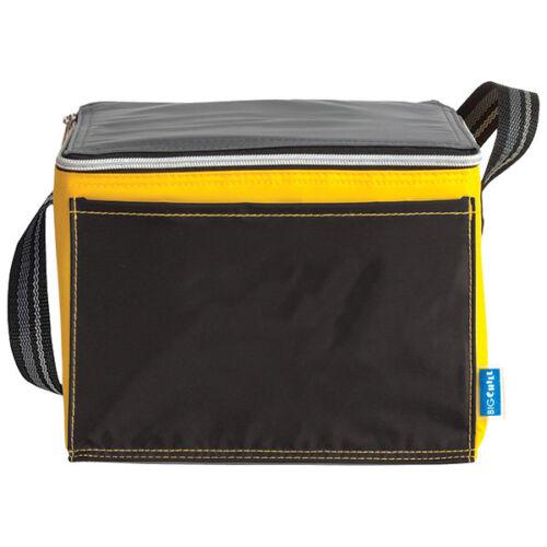 Refroidisseur Noir boissons fraîches alimentaire transporteur sac déjeuner lunchbag-cool sac pour le dîner