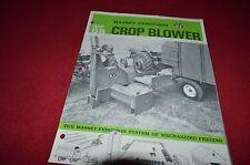 Massey Ferguson 88 Crop Forage Blower Dealer's Brochure DCPA